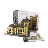 Notre Dame Cathedral of Paris Building Toy Blocks Set World's Great Architectures