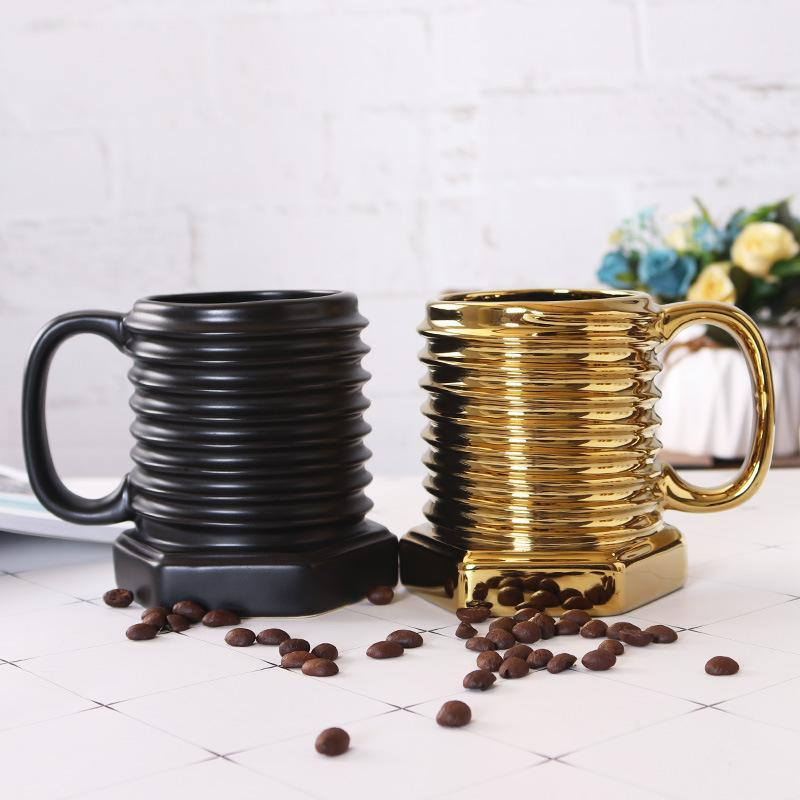 Ceramic Cool Mug Coffee Mugs Porcelain Attractive Gift Mug