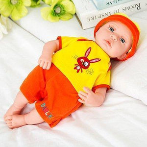Hot Sale Plush Stuffed Baby Doll Simulated Babies Sleeping Dolls