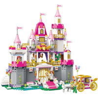 940Pcs Building Blocks Model Pricess Romantic Castle Toys for Children