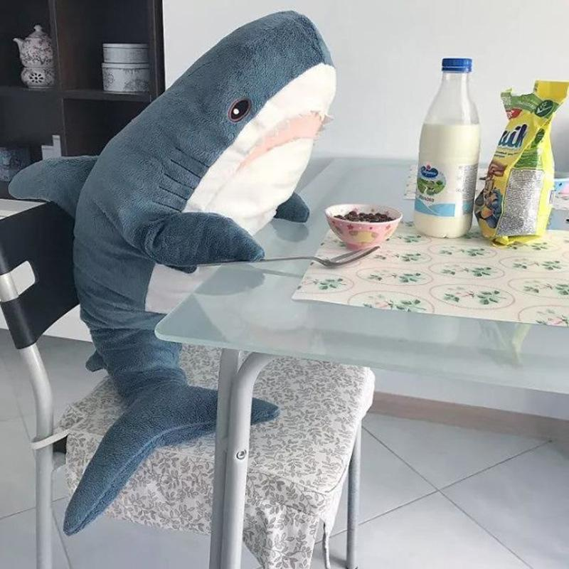 Shark Stuffed Animals  Neat Soft Large Body Pillow  Plush Ocra Fish Soothing Toy Children's Gifts