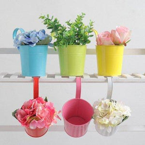 Creative Home Potted Flower Barrel Plant Flower Pot