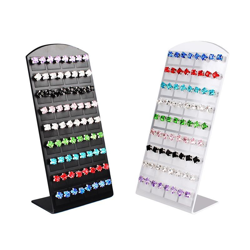 36 Pair Jewelry Holder Organizer Earrings Display Showcase Stand