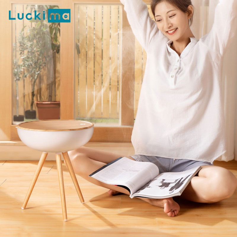 New 1000ML Home Aromatherapy Diffuser Ultrasonic Air Humidifier Creative Wood Grain Cool Mist Maker High Quality 360 Adjustable