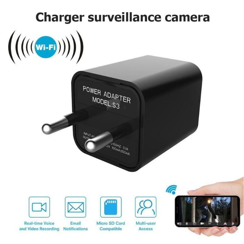 VODOOL S3 1080P Video Secret USB Charger Night Vision Mini Camera Support TF Card High quality HD FULL HD 1920X1080P Camera New