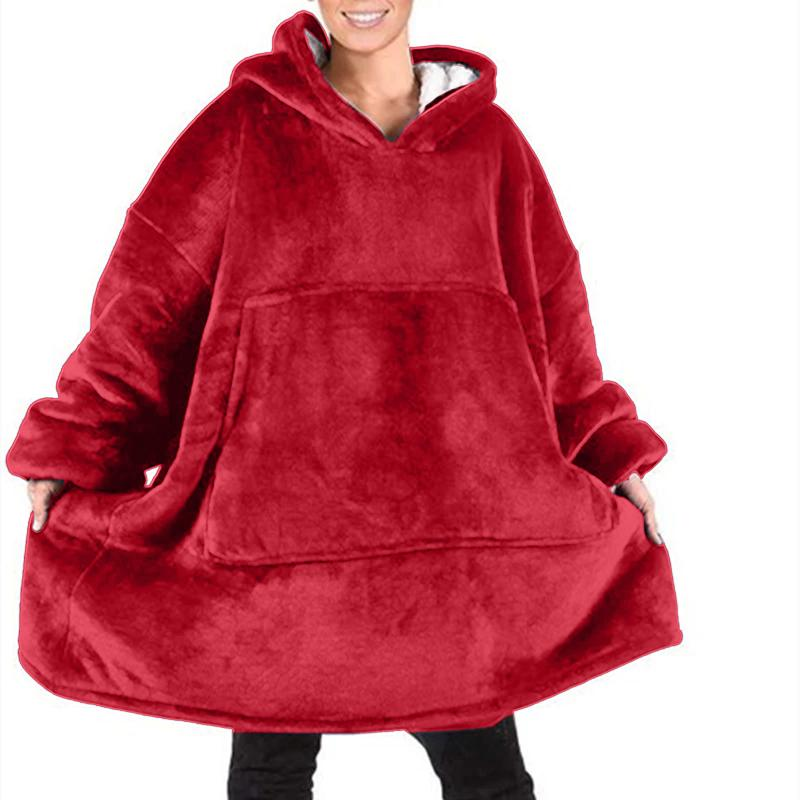 The Snuggle Master Blanket Buster Hoodie