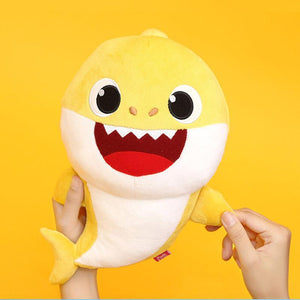 32CM  Baby Shark Stuffed Toy Cartoon Plush Toys Sharks Soft Dolls Children Baby Animal Kid Toys