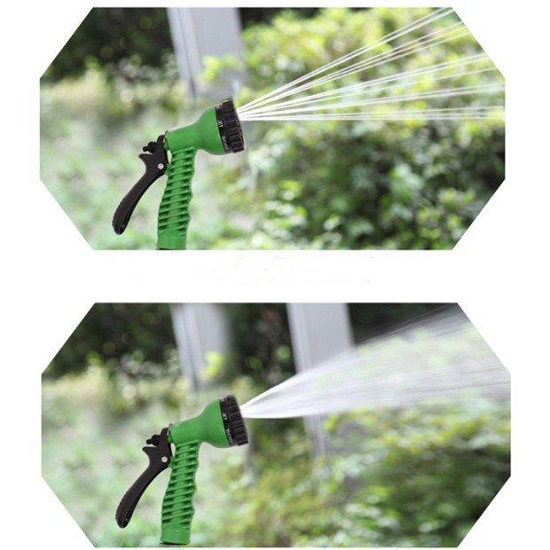 Garden Tools Gardening 7-Pattern Revolver Spray Nozzle Green Watering Multi Functional Spinkle