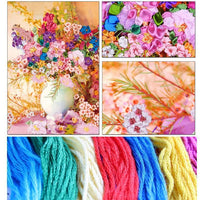 Material Tools Of DIY Embroidery Cross Stitch Hanging Scroll Painting