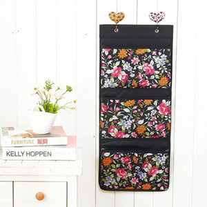 Large Capacity Folding Bag Oxford Container Kitchen Bathroom Wall Hanging Bag