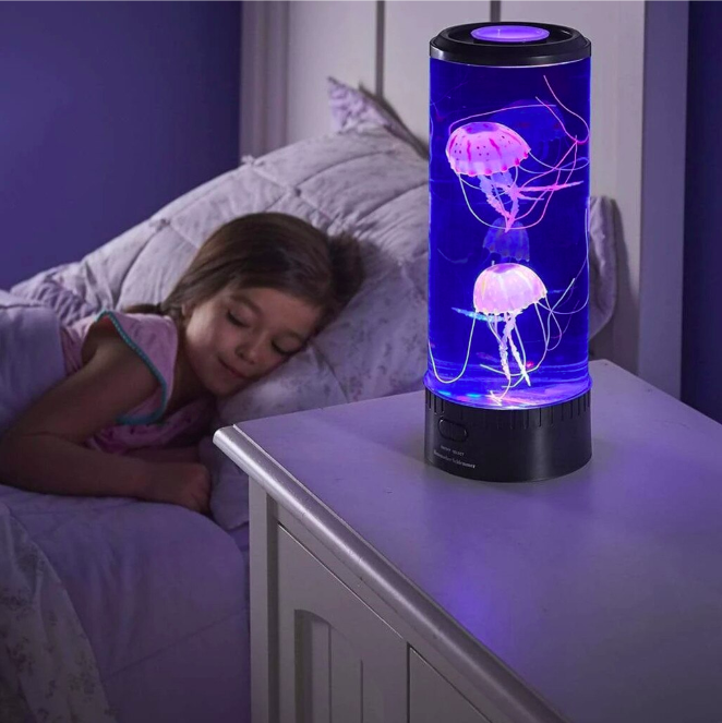 LED Ocean Jellyfish Night Light