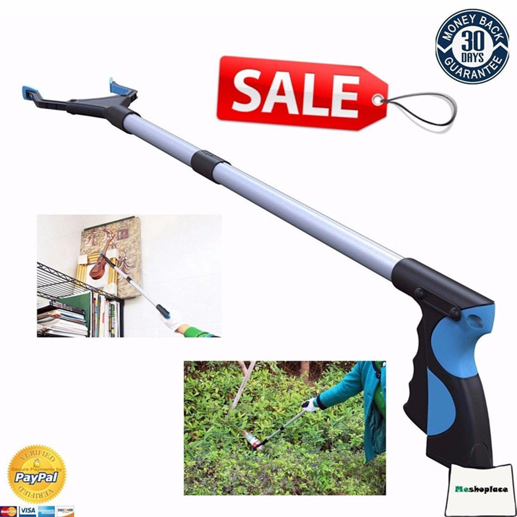 Garden Tools Grabber Pick Up Reaching Tool Handicap Grip Reacher Heavy Duty Aid Trash