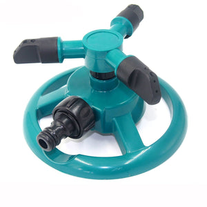 Watering & Irrigation Garden Watering Tools Irrigation Law Sprinkler Automatic Three Arms 360 Degree Rotating Spray Nozzle