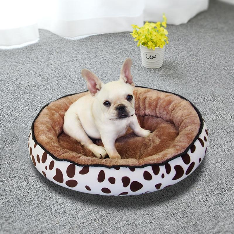Warming Kennel Washable Pet Floppy Extra Comfy Plush Rim Cushion