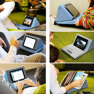 Universal Foldable Pillow Lazy Holder for Smart Phone Tablet Anti-slip Stand Desktop Phone Stand