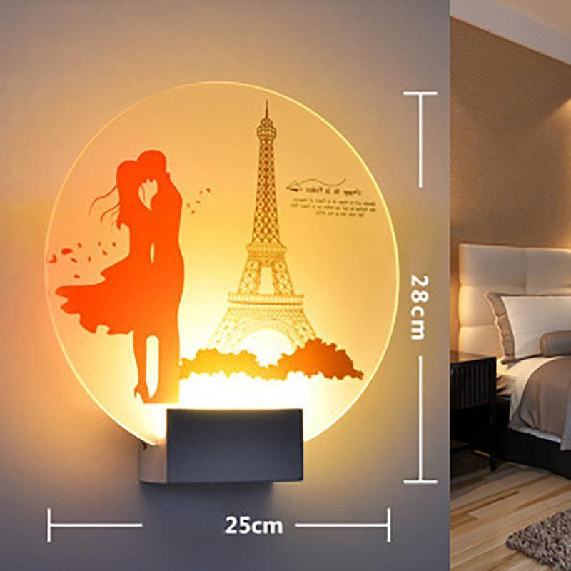 Appliques Luminaires Wall Light LED Sconce Indoor Mirror Light Interior Loft Wall Lamp Home Decor