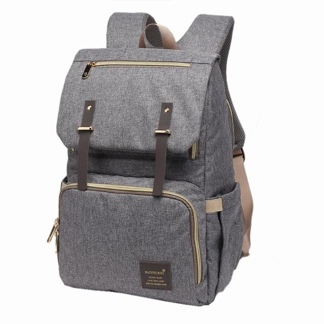 Kaylee USB Diaper Backpack Bag - Bebe Luv