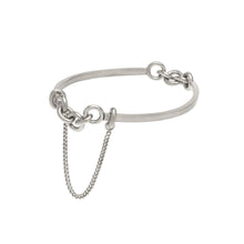 Load image into Gallery viewer, Cuff Chain #2 - Sterling Silver