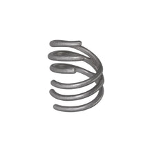 Load image into Gallery viewer, Spin Ring - Oxidized Silver