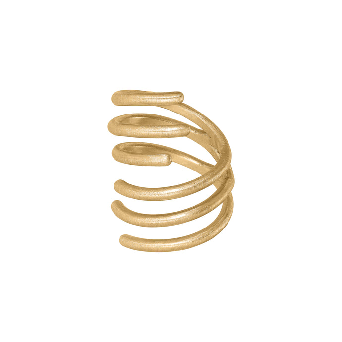 Spin Ring - Gold Plated Silver