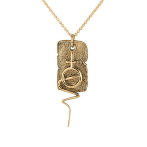 Linnet & Kjær Venus Necklace Gold Plated Silver