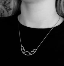 Load image into Gallery viewer, Diversity Necklace - Oxidized Silver