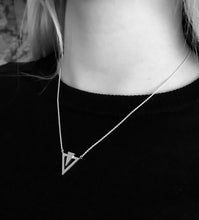 Load image into Gallery viewer, Icicle Necklace - Sterling Silver