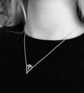 Icicle Necklace - Sterling Silver