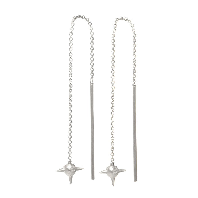 Ace Earring - Sterling Silver