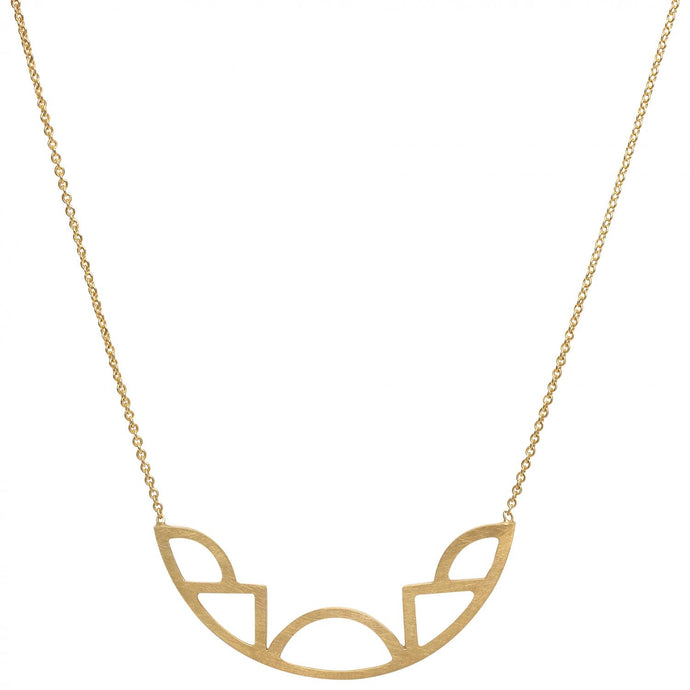 Diversity Necklace - Gold Plated Silver