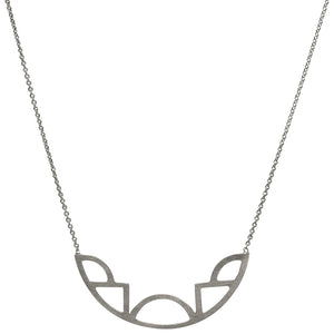 Diversity Necklace - Oxidized Silver