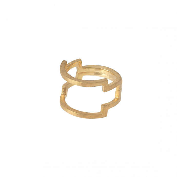 Iconic Ring - Gold Plated Silver