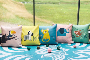Young, Wild & Free Cushion Covers