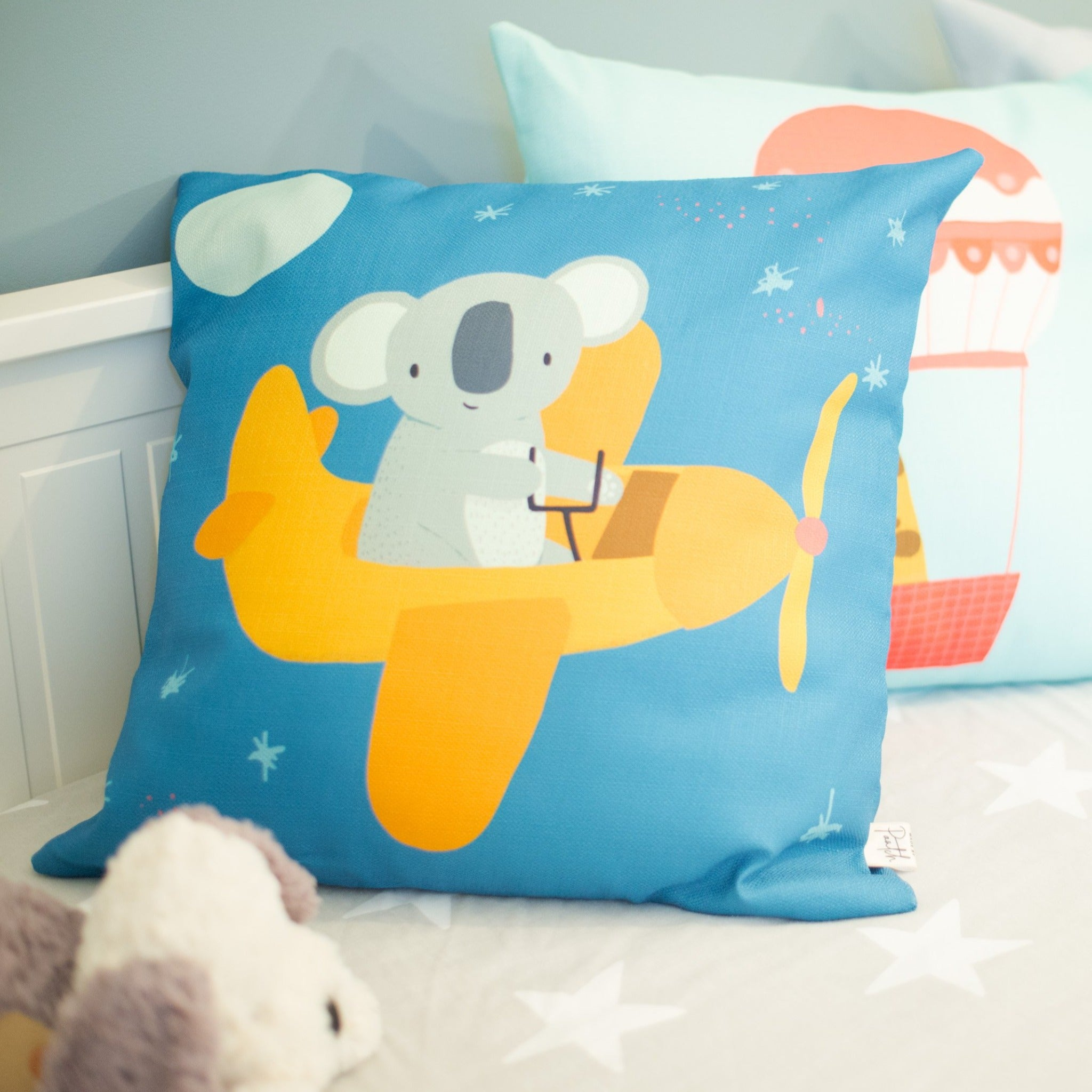 Keanu Koala Cushion Cover and Optional Inner Filling
