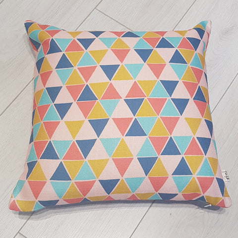 World of Shapes Fascinate Tessellate Geometric Home Cushion Cover