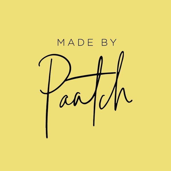 Made by Paatch Logo in Yellow