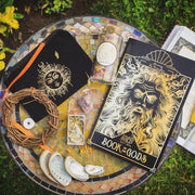 Items laid out to display what was in one months subscription box