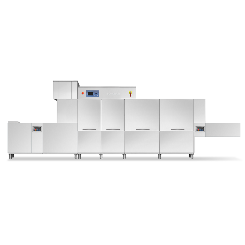 QX-PRO-D Flight Type Dishwasher with Blower/Dryer