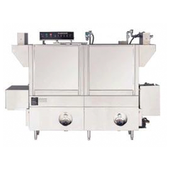 R-CC-64 / R-EE-72 / R-LL-80 / R-MM-100 Rack Conveyor Dishwasher, Double Wash Tank