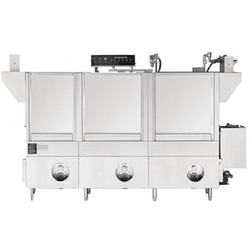 R-PCC-88 / R-PEE-96 / R-PLL-104 / R-PMM-124 Rack Conveyor Dishwasher, Double Wash Tank with Prewash