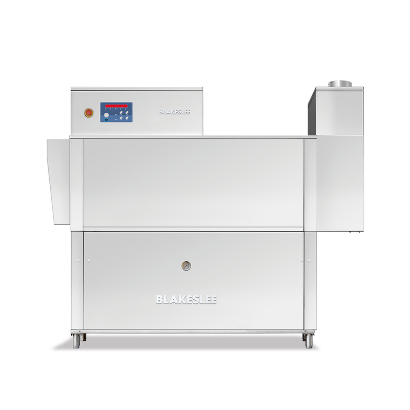 RC-64-3 HR Rack Conveyor Dishwasher with Heat Recovery, Single Wash Tank with Dual Final Rinse
