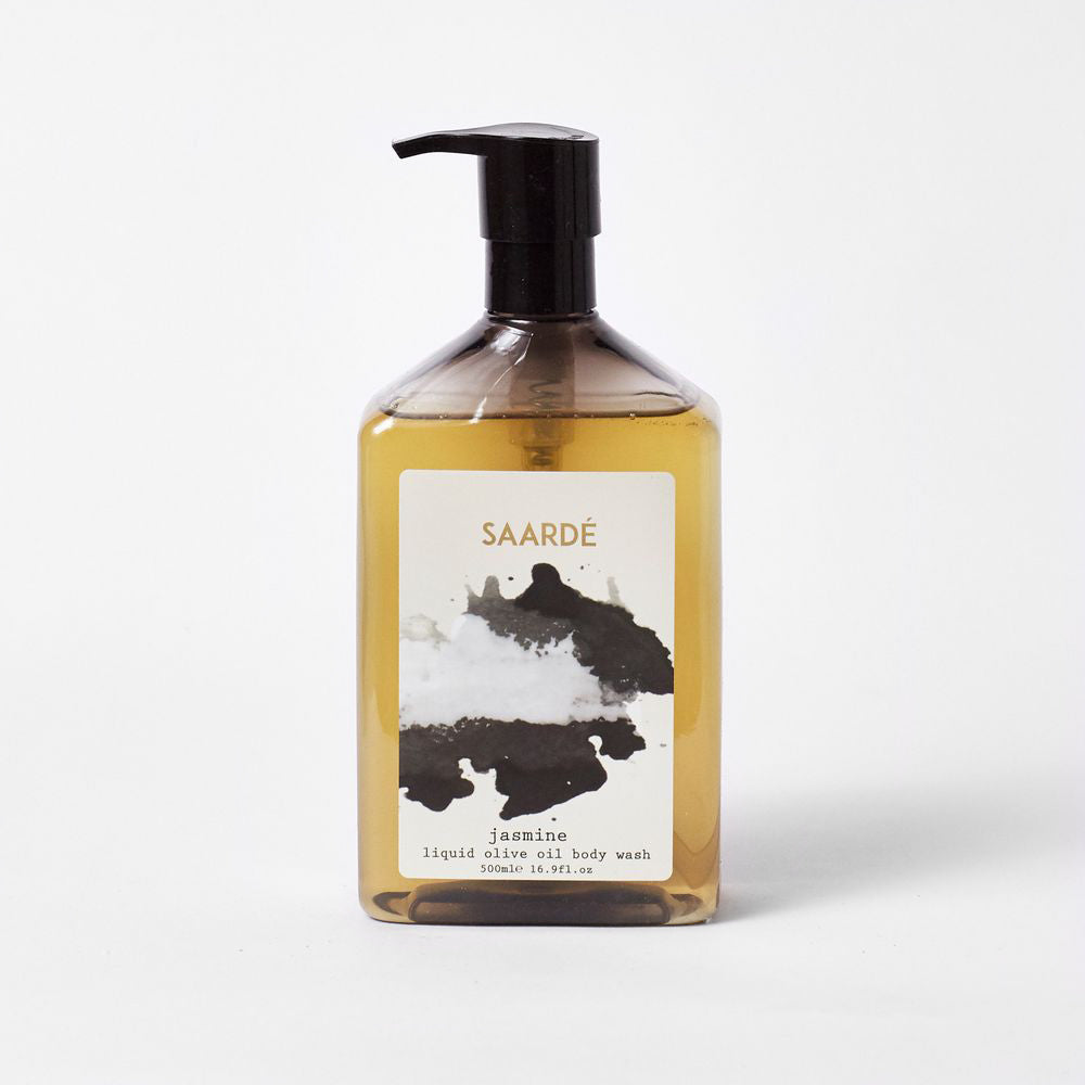 Liquid Olive Oil Body Wash - Jasmine