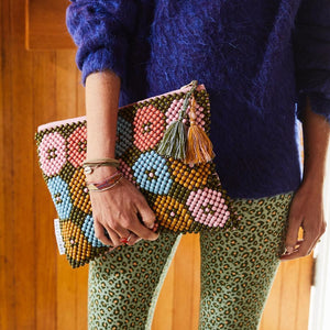 Florence Beaded Clutch