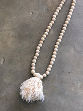 Load image into Gallery viewer, Wooden Beaded Tassel