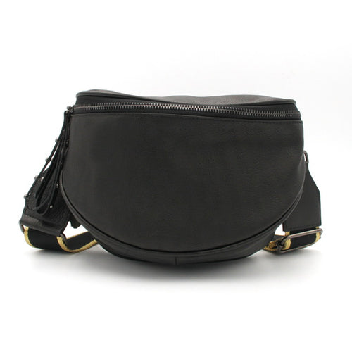 Crossbody Bag – Black/Gunmetal