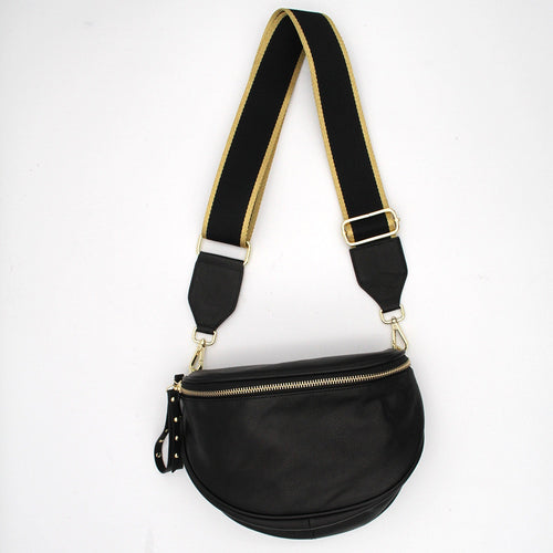 Crossbody Bag – Black/Gold