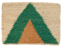 Load image into Gallery viewer, Arrow Doormat - Green Gold