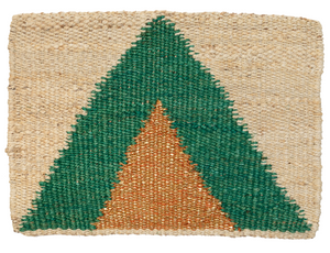 Arrow Doormat - Green Gold