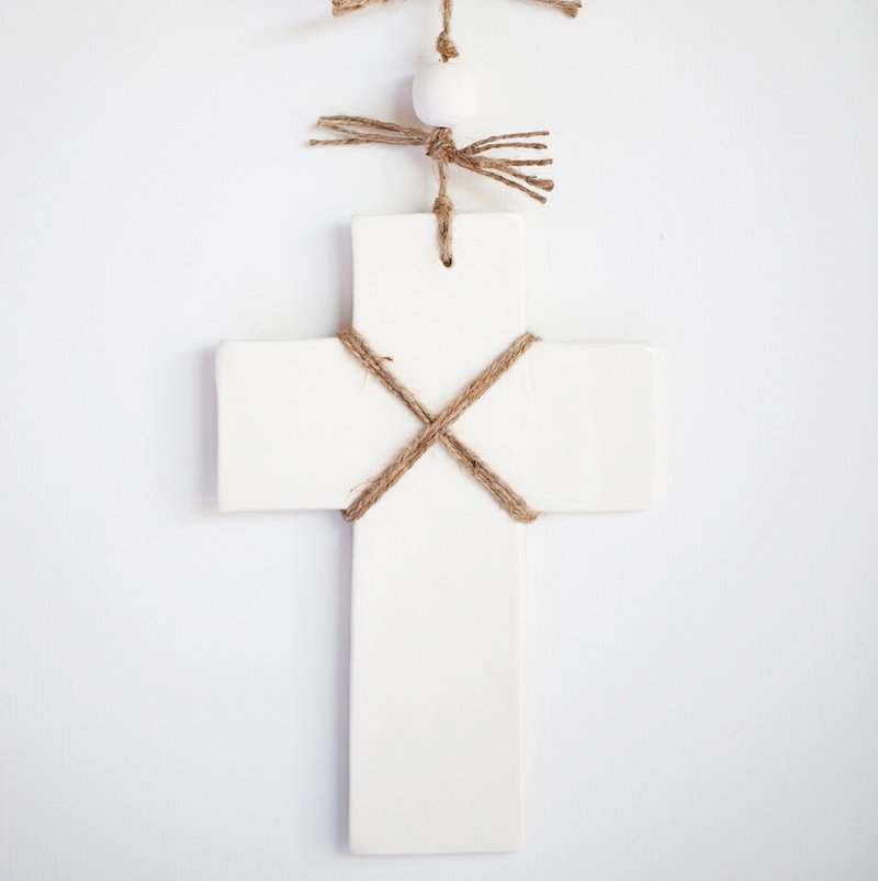 Rosary Cross Cream