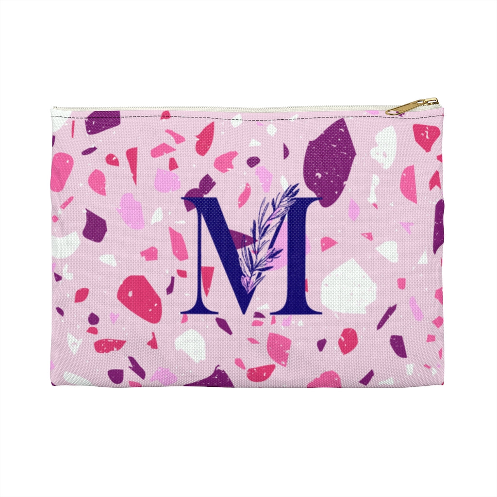 CUSTOMIZABLE S-Pouch, ROSE STONE, with contrast print
